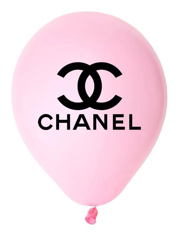 Bong bóng in logo Chanel