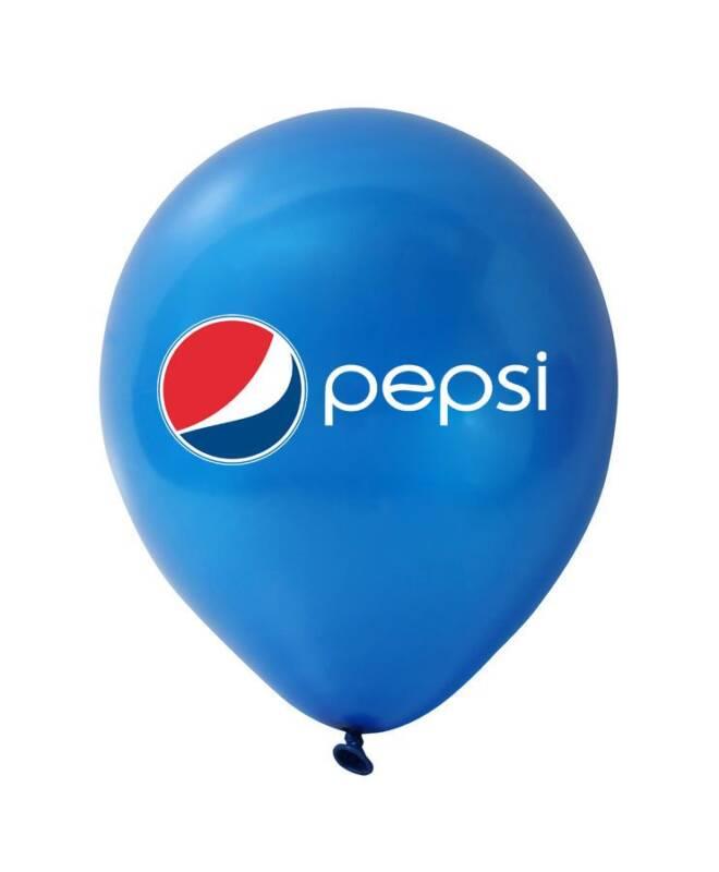 Bong bóng in logo Pepsi