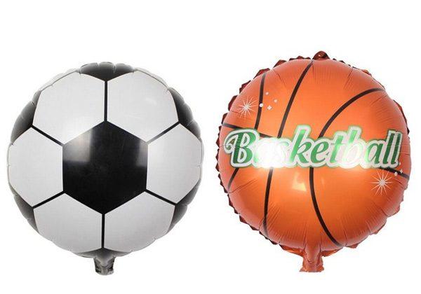 Bong bóng kiếng bóng rổ trang trí sinh nhật