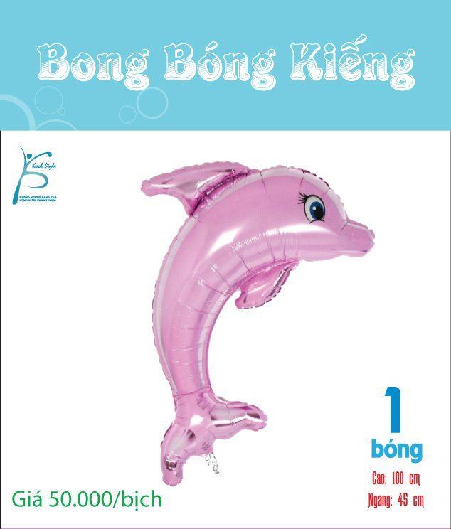 Bong bóng kiếng cá heo hồng