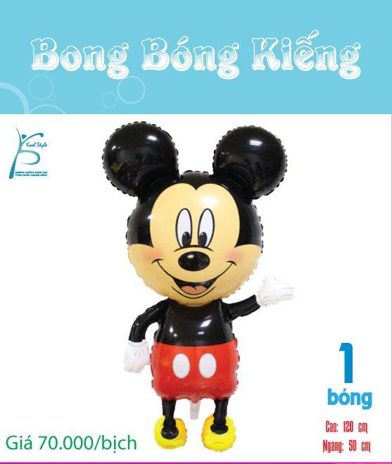 Bong bóng kiếng Mickey tinh nghịch