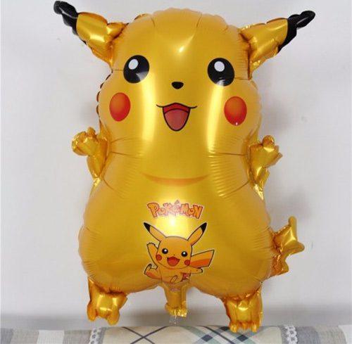 Bong bóng kiếng pikachu trang trí sinh nhật