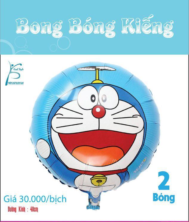 Bong bóng kiếng sinh nhật Doraemon