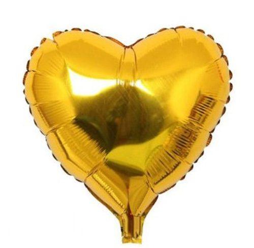 Bong bóng kiếng trái tim nhỏ màu vàng