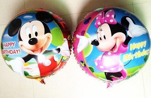 Bong bóng kiếng tròn chủ đề Mickey