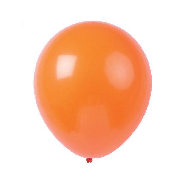 bóng tròn màu cam