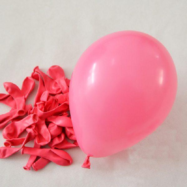 Bong bóng tròn nhỏ màu hồng phấn