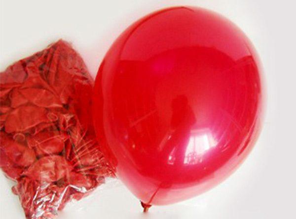 Bong bóng nhũ màu đỏ