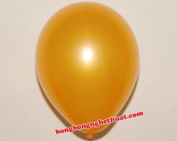Bong bóng tròn nhỏ màu cam trang trí tiệc