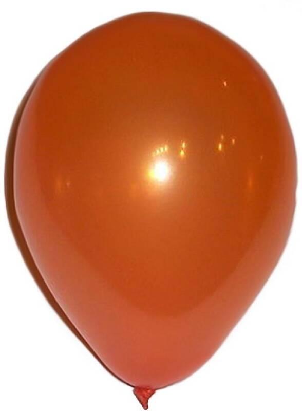 Bong bóng nhũ nhỏ màu cam