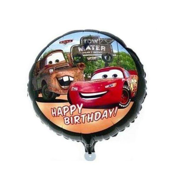 Bong bóng kiếng sinh nhật xe hơi Mc Queen
