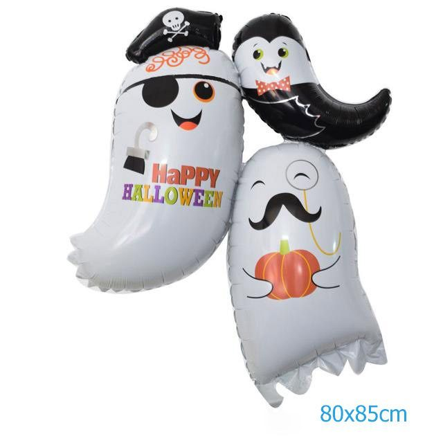 Bong bóng trang trí Halloween hồn ma baby dễ thương