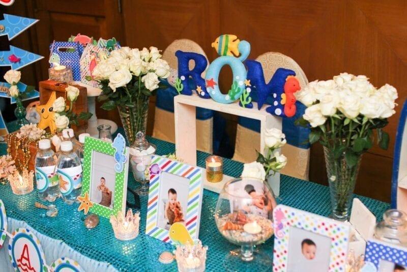 Phụ kiện sinh nhật đẹp trên bàn