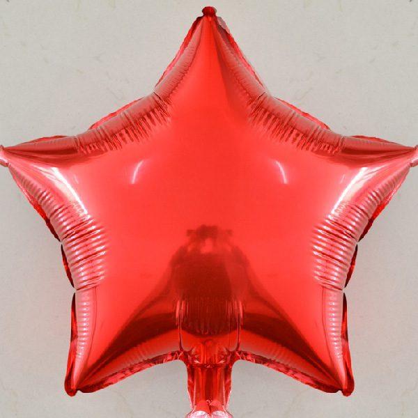Bong bóng kiếng ngôi sao lớn màu đỏ