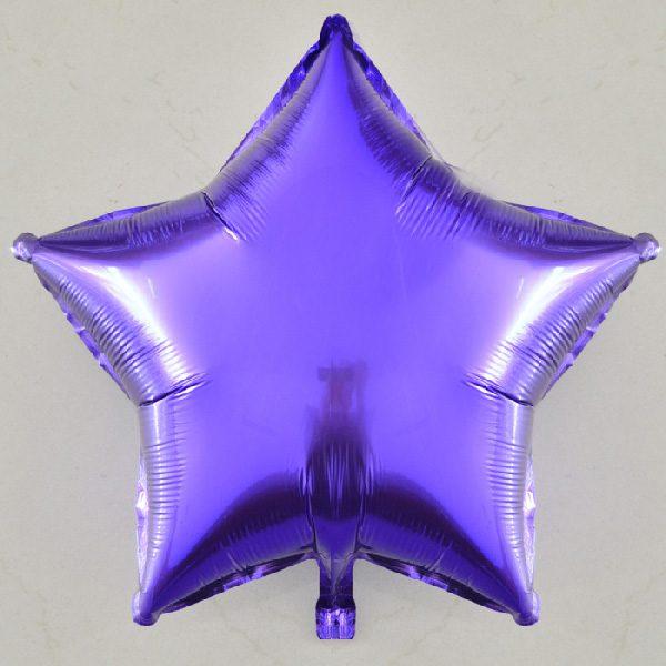bong bóng kiếng ngôi sao trung màu tím