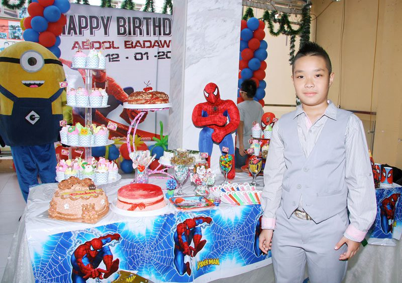 Tổ chức sinh nhật cho bé trai 6 tuổi tại nhà