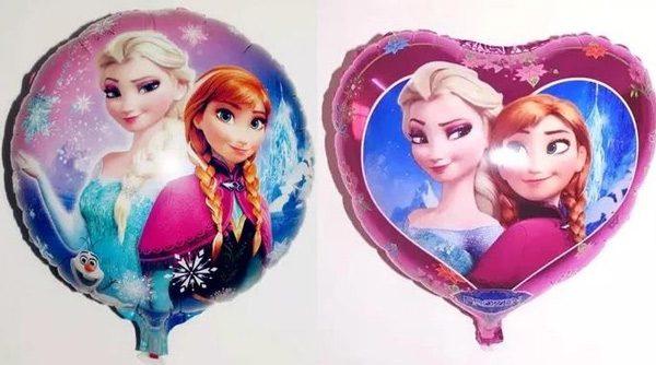 Trang trí bong bóng kiếng công chúa elsa