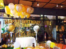 Trang trí sinh nhật cho teen bằng bong bóng jumbo